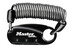 Masterlock 1551 Karabiner-Kabelschloss 900 mm x 90 mm schwarz